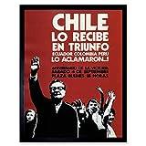 Wee Blue Coo Propaganda Chile Political Salvador Allende