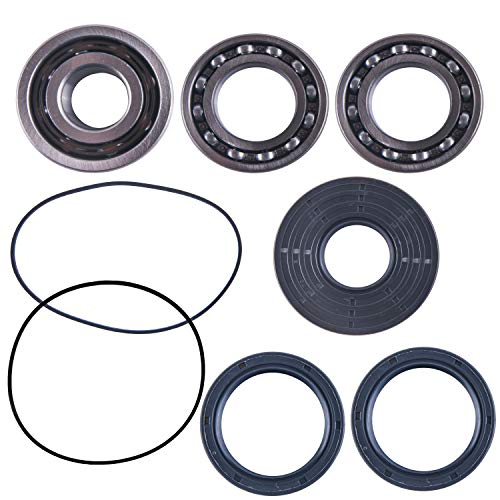 East Lake Axle front differential bearing & seal kit compatible with Polaris RZR 570/800 / 900/1000 2011 2012 2013 2014 2015 2016 2017