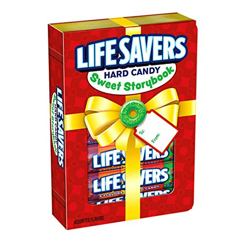 LIFE SAVERS 5 Flavors Sweet Storybook Gift Box, 1.14-Ounce Roll (6 Rolls of Candies)