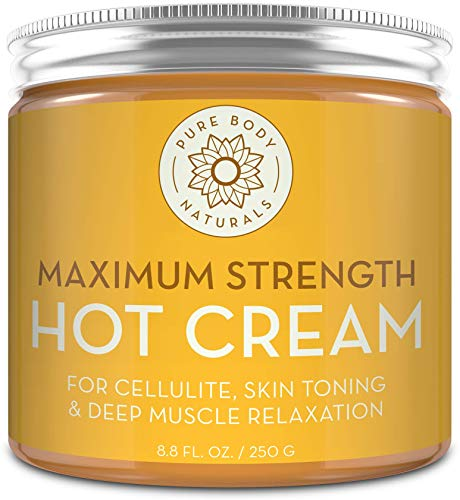 Max Strength Hot Cream - Natural Mu…