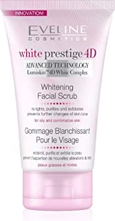 Eveline White Prestige 4D Whitening Facial Surub, 150 ML