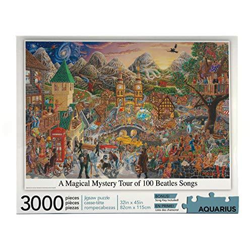 Aquarius 68504 rompecabezas de Tour Beatles Magical Mystery, multicolor , color/modelo surtido