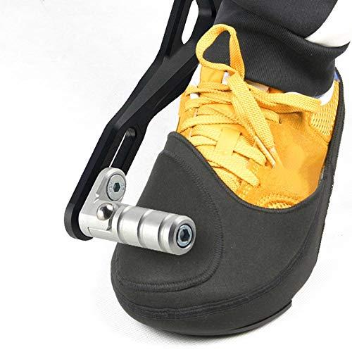 Gear Shifter Zubehör Für Schuhe Motorrad Stiefe l Protector, Stiefe l Schutz Abdeckung, Schuh-Schoner, Schuhschutz Motorrad, rutschfest Und Verschleißfest