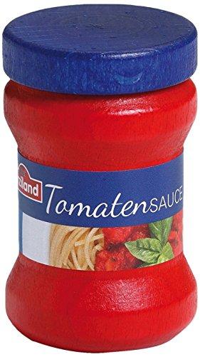 Erzi 6,1 x 3,9 cm Holz Supermarkt Tomaten Sauce Spielset