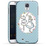 Coque Compatible avec Samsung Galaxy S4 Étui Housse Produit sous Licence Officielle Disney Alice au...