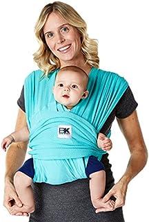 Baby K'tan BREEZE - Transportista de malla de algodón para bebé, Breeze, S, Verde azulado