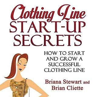 Clothing Line Start-Up Secrets audiobook cover art