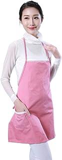ZEVONDA 魅力的な金属繊維アンチ放射線マタニティ服, ピンク/ワンサイズ