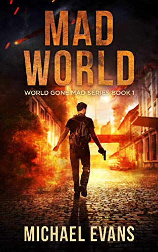 Mad World: A Post-Apocalyptic EMP Survival Thriller (World Gone Mad Book 1) by [Michael Evans]