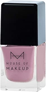 House of Makeup Matte Nail Polish - Pastel Lavender, Long Lasting Quick Dry Nail Paint with Velvet Smooth Finish - Lavender Dust Colour (12ml)