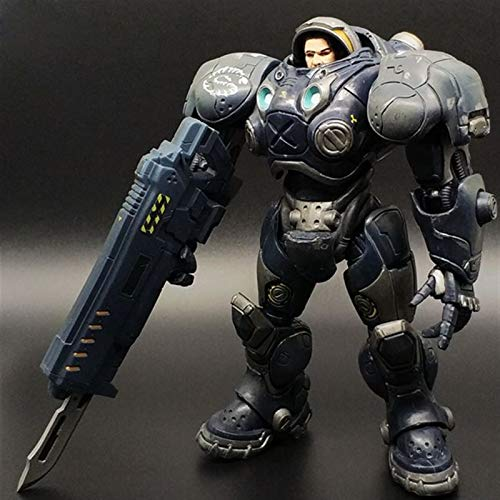 StarCraft - Terran Soldier PVC Figure Video Games Collectible Statue Chibi