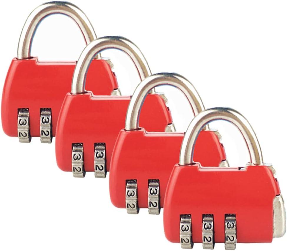 ZHome Red Handbag Shape Regular dealer Combination Padlock Women - Mi Girls for Manufacturer OFFicial shop