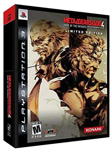 Konami Videospel Metal Gear Solid 4 Gons of Patriot PS3 Limited Edition spel #1