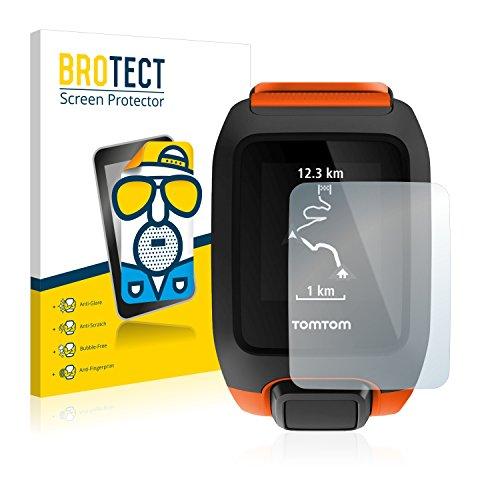 BROTECT 2X Entspiegelungs-Schutzfolie kompatibel mit Tomtom Adventurer Bildschirmschutz-Folie Matt, Anti-Reflex, Anti-Fingerprint
