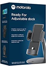 Motorola Ready for Adjustable Dock for Motorola Edge+ - Multimedia USB-C Adjustable Stand for amplifying Smartphone Produc...