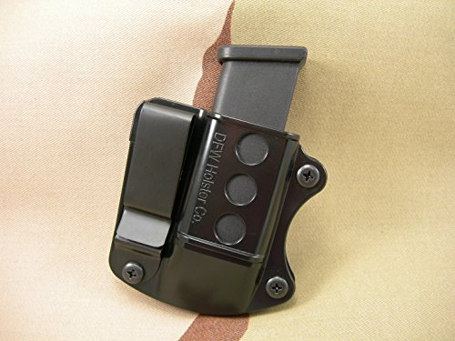 Double Stack Tuckable IWB Mag Pouch. Fits 9mm, 40 Cal, 45 ACP. (SCCY CPX 1/2)