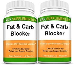 top 10 carb fat blocker Phaseolus Vulgaris (an extract from bean), two fat and carbohydrate blockers including chitosan …