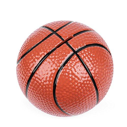 sparschwein keramik - fußball Spardosen münze Bank - 5 Designs für Wahl Golf/Basketball/Fussball/Rugby/Hockey) 6,5