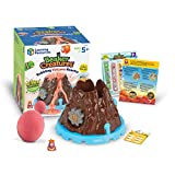 Learning Resources Beaker Creatures Bubbling Volcano Reactor, Preschool Science, Homeschool, STEM, Includes 5 Science Experiments, Easter Gifts for Kids, Easter Toy, 6 Pieces, Ages 5+