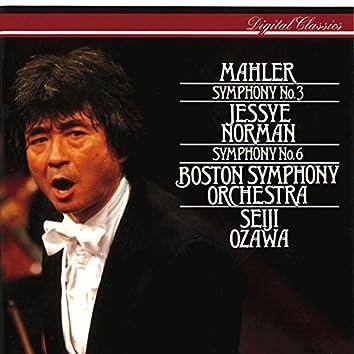 Mahler: Symphonies Nos 3 & 6