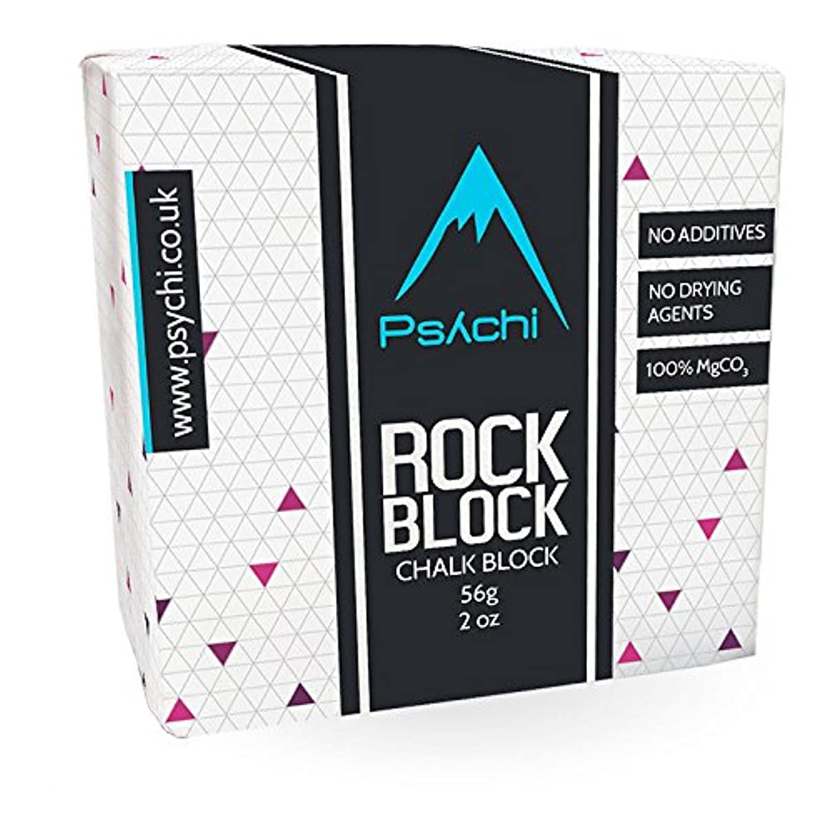Psychi Chalk Block for Crossfit Rock Climbing Bouldering Gym Gymnastics Weightlifting Pole Dancing