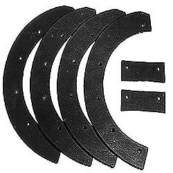 professional Oregon 73-001 6 Piece Snowplow Blade Set Replace Snapper 6-0631