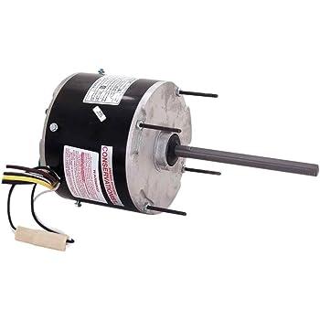 5.6-Inch Frame Diameter Century FEH1056D Condenser 2.4-Amp Ball Bearing Motor 1075-RPM 1//2-HP 208-230 // 460-Volt
