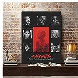 asfrata265 Änderungen Justin Bieber Album Poster Wandkunst