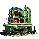 SESAY Juego de construcción de bloques de construcción para casa, 2795 piezas, 3 pisos, modular restaurante arquitectura, modelo compatible con Lego