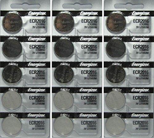 15 Energizer CR2016 Lithium Batteries