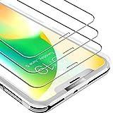 UNBREAKcable iPhone 11Pro/XS/X Panzerglas [3 Stück] Verstärkere Panzerglasfolie Kompatibel mit...