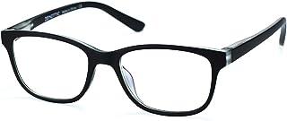 ZENOTTIC Kids Blue Light Blocking Glasses Anti Glare Lens Lightweight Frame Computer Eyeglasses for Boys and Girls (Black)