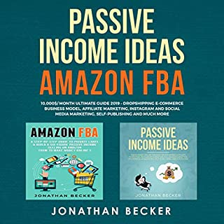 Passive Income Ideas, Amazon FBA cover art