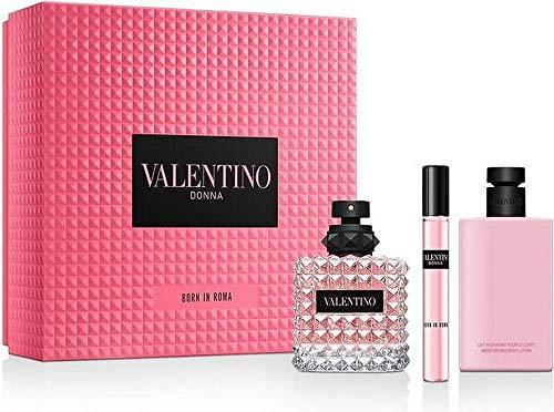 Valentino Valentino Donna Born In Roma Eau Parfum 100Ml + Leche Corporal 100Ml + Miniatuira 10Ml 250 ml