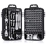 Gocheer 138 en 1 Mini Set Tournevis Precision Kit Tools Petit Boite Tournevis Torx Informatique Demontage PC Portable Pour MacBook,iPhone,Réparation,Lunettes,Bricolage,Montre,Smartphone