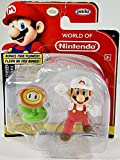 World of Nintendo Fire Mario 2.5 inch Figure with Fire Flower
