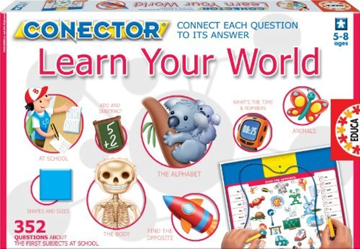 Educa Connector - Learn Your World by Educa