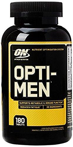 Optimum Nutrition Optimen - non aromatisé, 60 Portions, 180 Caps - Multivitamines homme