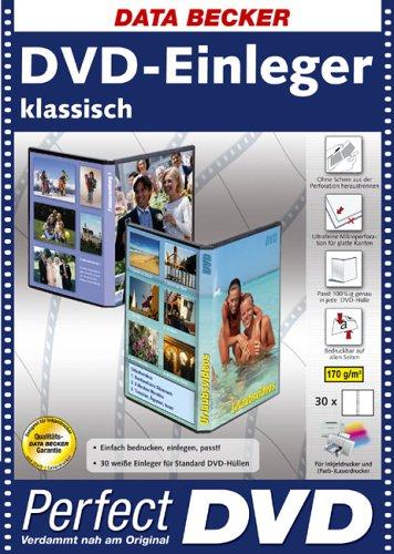 Data Becker 310548 DVD Inlets INK/Laser 30 Papier