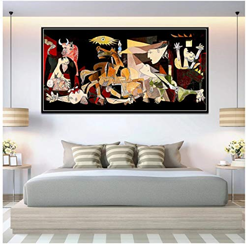 Replica Picasso Canvas Art Vintage Classic Print Painting Posters and Prints Wall Pictures Home Decor
