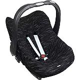DOOKY BabyFit - Funda universal para sistema de cinturón de 3 y 5 puntos de anclaje, silla de coche, como por ejemplo para Maxi-Cosi, Cybex, etc. negro matriz