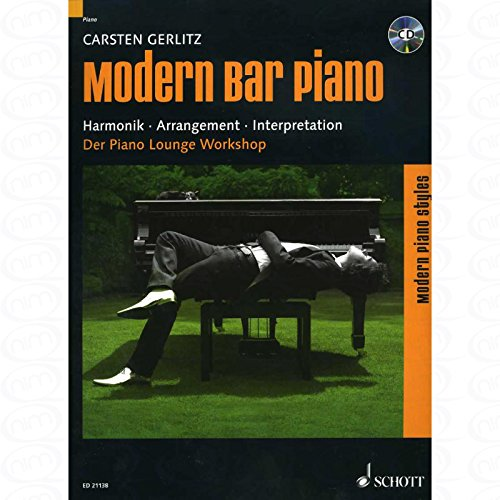 Modern Bar Piano - arrangiert für Klavier - mit CD [Noten/Sheetmusic] Komponist : GERLITZ CARSTEN