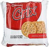 Crix Original Crackers 3 Individually Wrapped Rolls 10 oz