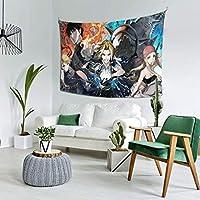 自然風景 鋼の錬金術師 (1) 多機能 タペストリー インテリア 壁掛け おしゃれ 室内装飾タペストリー カバー カーテン ウォールアート 布ポスター カーテン カスタマイズ可能