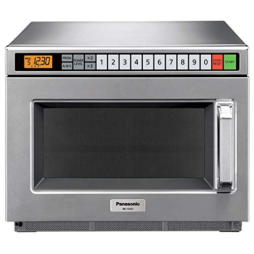 Panasonic 0.6 Cu. Ft. 1200 Watt, Keypad Control, Commercial Microwave