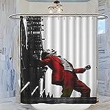 DRAGON VINES Duschvorhang, Motiv: Joker The Greatest Comic Bösewicht Batman's Enemies, klassisch, 183 x 183 cm