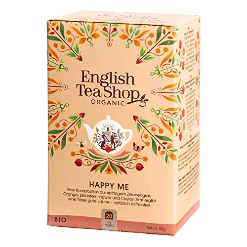 English Tea Shop - Happy Me, BIO Wellness-Tee, 20 Teebeutel