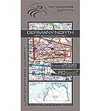 Germany North Rogers Data VFR Luftfahrtkarte 500k: Deutschland Nord VFR Luftfahrtkarte – ICAO Karte, Maßstab 1:500.000