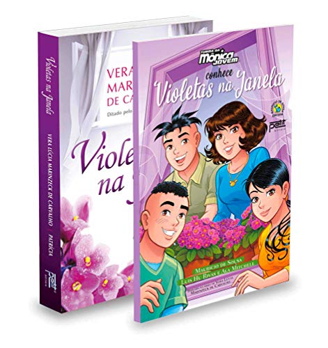 Kit Violetas Na Janela + Turma Da Mônica Jovem Conhece Violetas Na Janela