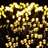 Quntis 83Ft 1000 LEDs Christmas String Lights - Outdoor Indoor Xmas Decoration Lights 8 Modes...
